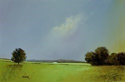 English Greens by Barry Hilton -  sized 24x16 inches. Available from Whitewall Galleries